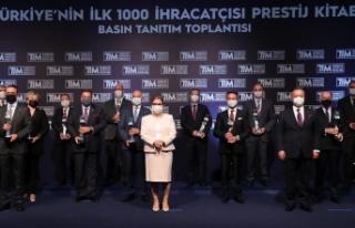 İlk 1000 ihracatçıdan 103 milyar dolarlık katkı