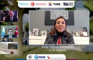"""UTİB BaşkanıPınar Taşdelen Engin, """"Yakaladığımız..."""